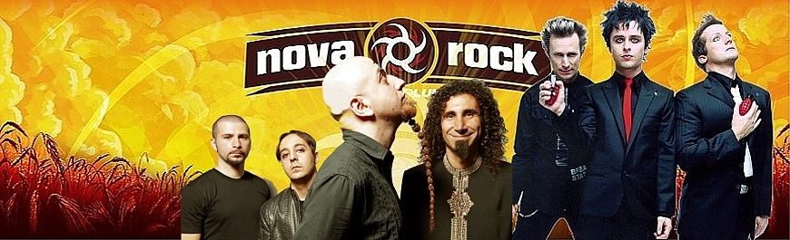 NOVA ROCK 17! System Of A Down, Green Day..